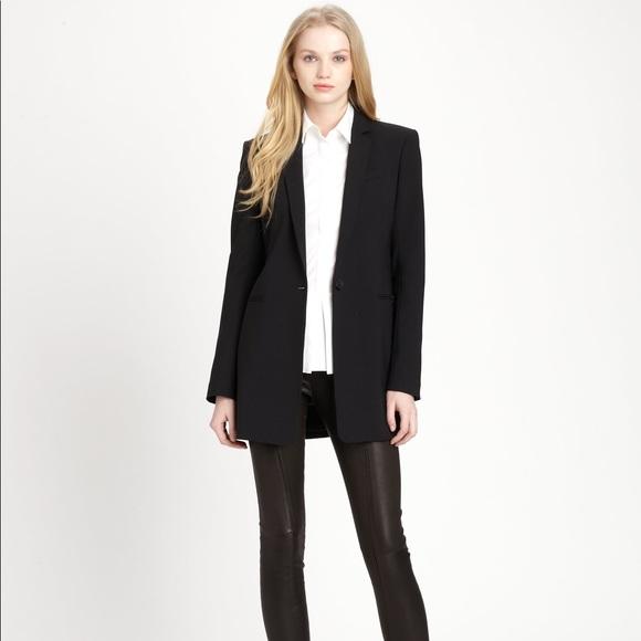 c78da324c5e Theory Jackets & Coats   Marcela Rialto Long Blazer   Poshmark